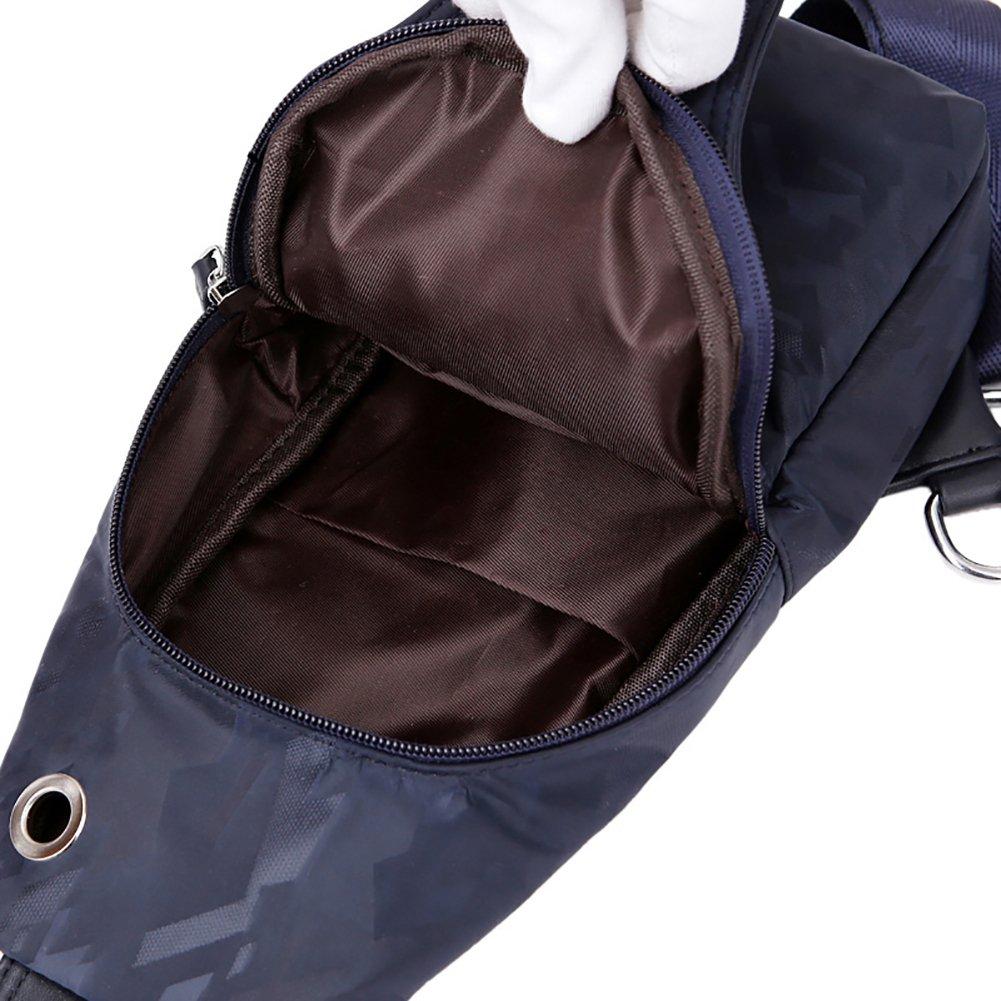 CKLT Mens Waterproof Breast Pack Sports Outdoor Leisure Slanted Shoulder Bag CCKLT