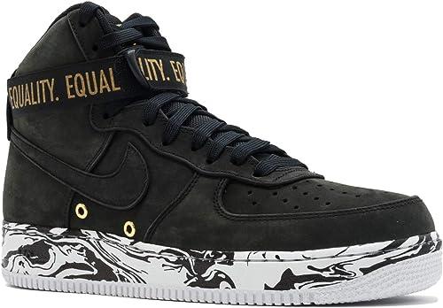 Nike AIR Force 1 HI BHM QS 'Black