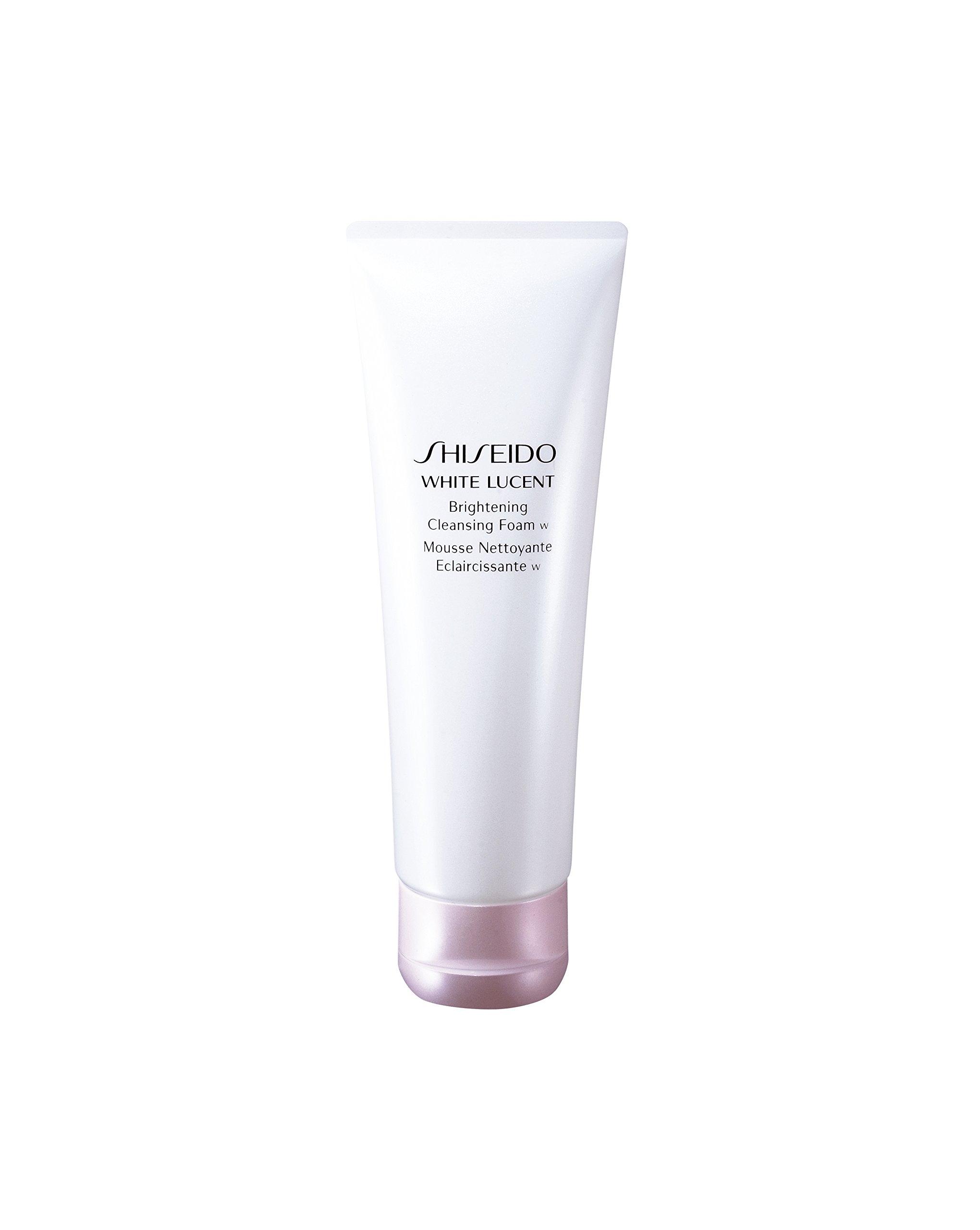 Shiseido White Lucent Brightening Cleansing Foam for Unisex, 4.7 Oz