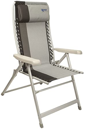 KAMPA AMALFI reclinable silla CAMPING salón muebles de jardín ...