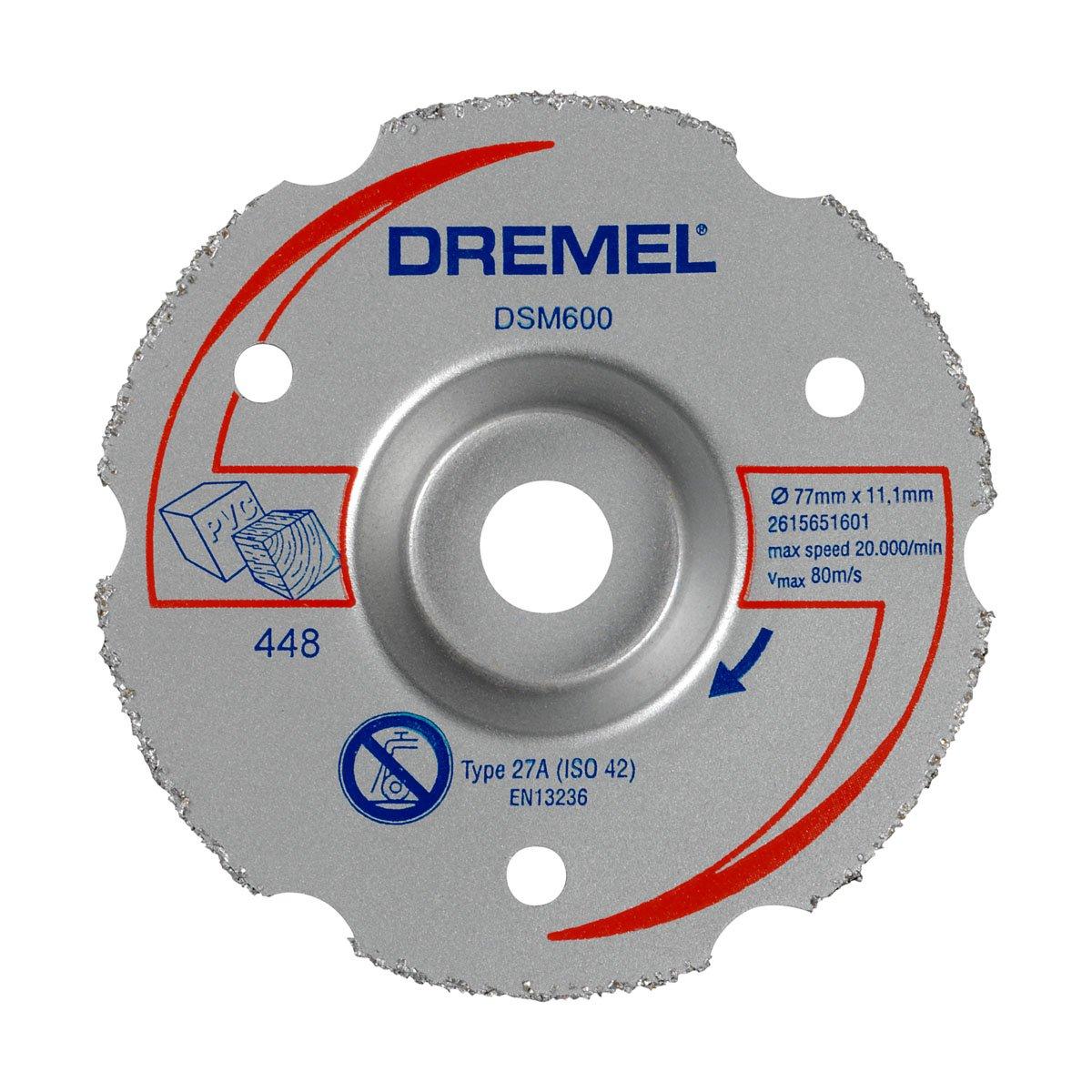 Dremel DSM600 Disco da Taglio Multiuso per Tagli a Filo