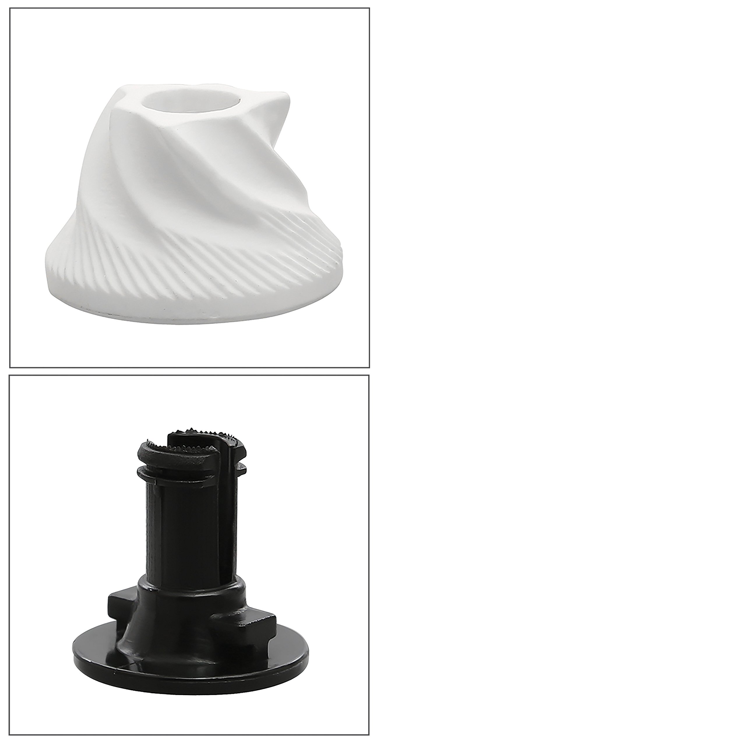 Conical Ceramic Burr for Precision Brewing And Plastic Part - Replacement Part for World Of Shanik Premium Quality Stainless Steel Manual Coffee Grinder