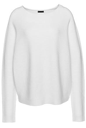 c5aa1e01e8fc Drykorn Pullover Milty für Damen Weiß L: Amazon.de: Bekleidung