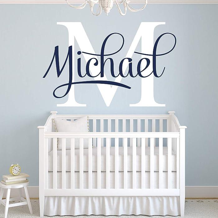 The Best Nursery Name Decor