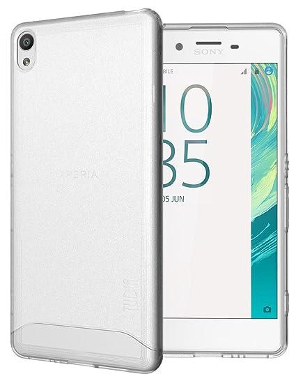 best website 49d62 9c93f Amazon.com: Sony Xperia XA Case, TUDIA Slim Full-Matte ARCH TPU ...
