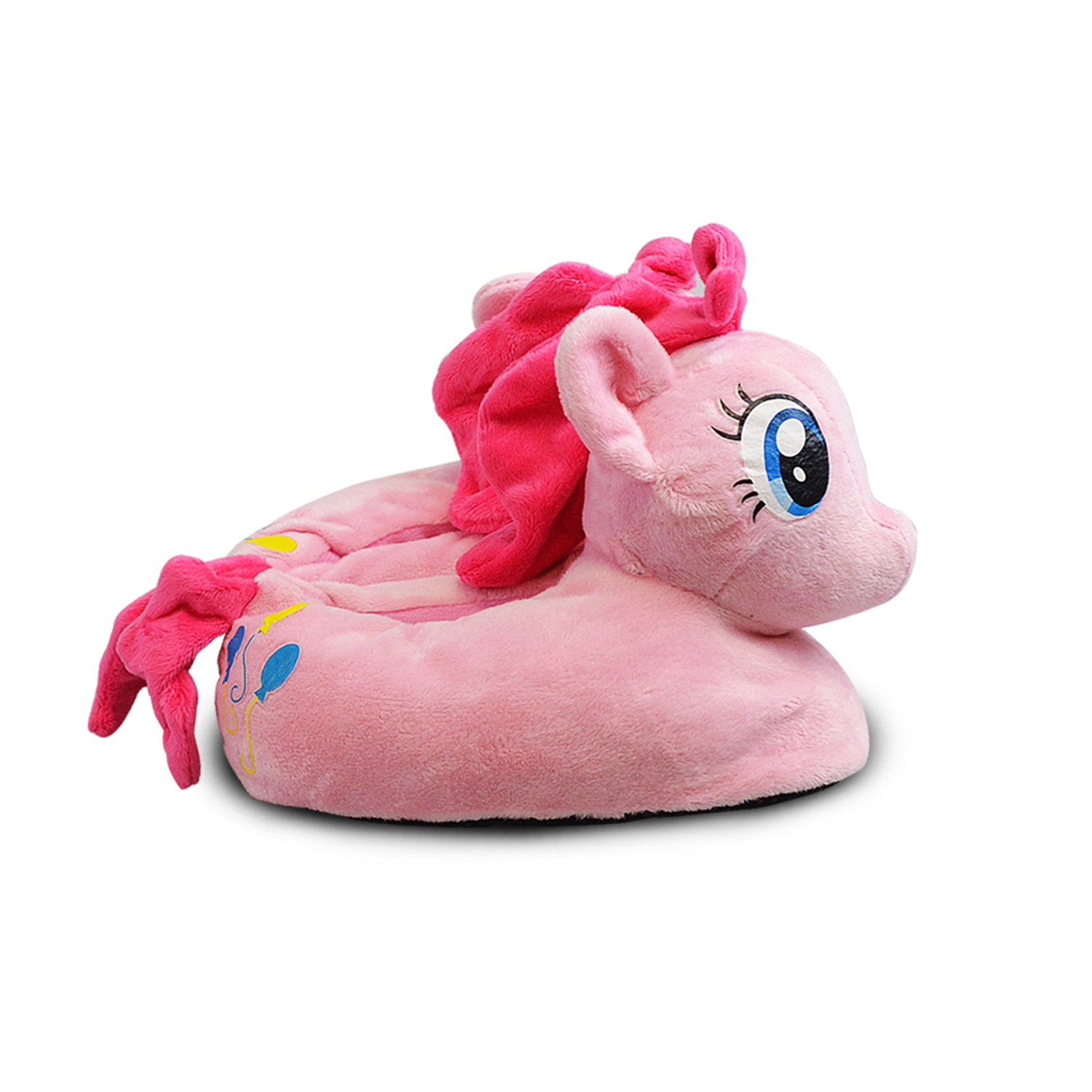 7c48298238cf My Little Pony Kids Plush Slippers Bedtime Toddler Soft Non Slip Rainbow  Dash (Pink