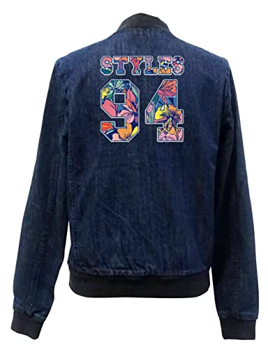 Styles 24 Flowers Bomber Chaqueta Girls Jeans Certified Freak