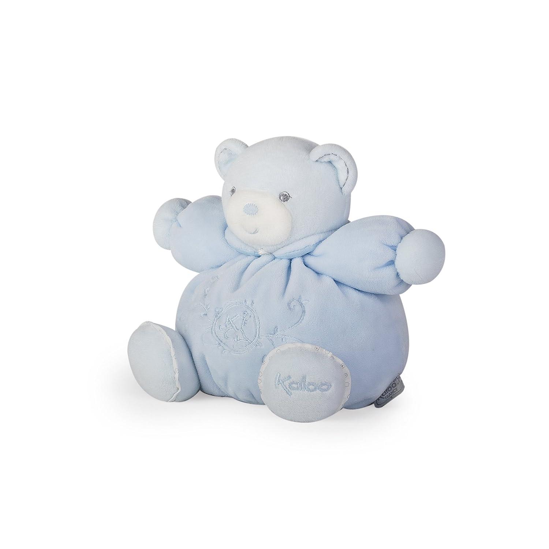 Kaloo - Colección Perle, Osito de peluche, 18 cm, color azul (K962148): Amazon.es: Juguetes y juegos