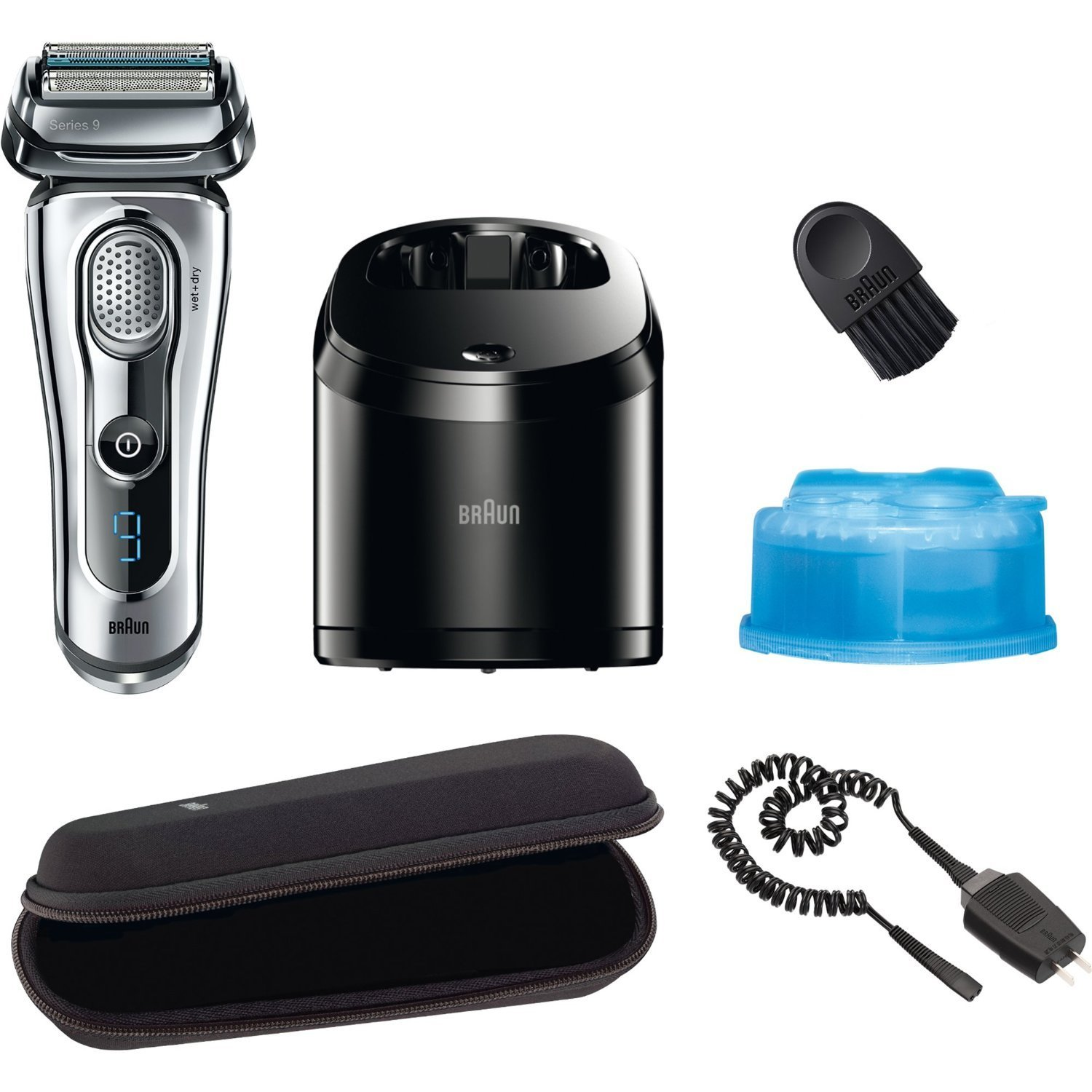 Braun Series 9-9095cc Review Accessories