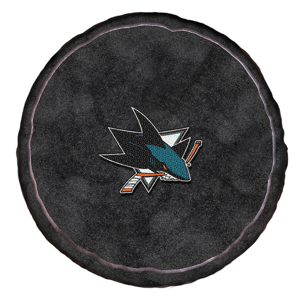The Northwest Company Officially Licensed NHL San Jose Sharks 3D Sports Pillow, 19'', Multi Color by The Northwest Company