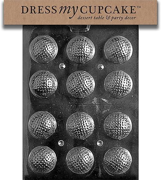 Vestido mi Cupcake dmcs051set Chocolate Candy Mold, pelotas de ...