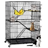 Yaheetech 4-Tier Kitten Cat Ferret Cage Cat