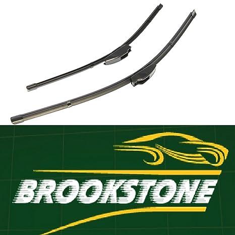 Brookstone Set de limpiaparabrisas para Mini Cooper/One, 2001 y posterior, 45 y