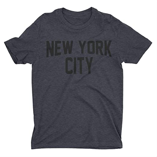 Amazon Com Nyc Factory New York City Kids Tee Dark Heather Charcoal