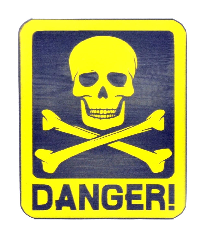 Pericolo di morte, novità adesivo adatto per porte, finestre: uso esterno e interno Origin