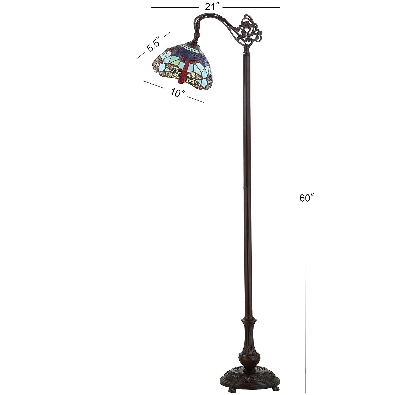 Bronze JONATHAN Y JYL8010A Floor Lamp