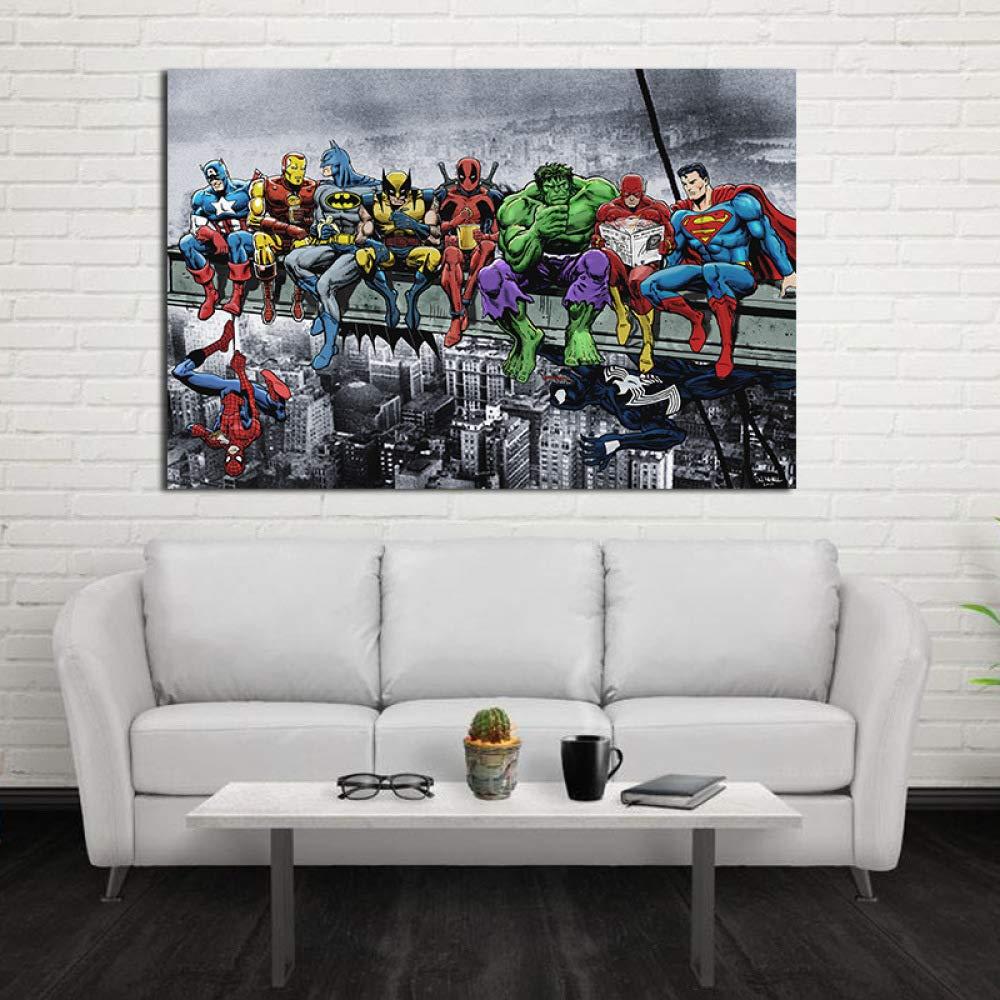 adgkitb canvas 30x45cm SIN Marco Pintura al óleo Abstracta ...