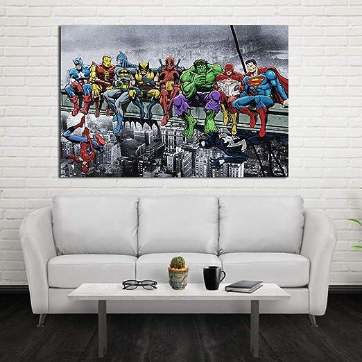 adgkitb canvas 60x90cm SIN Marco Pintura al óleo Colorida ...