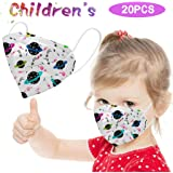 Kids Bandanas Kids Boys Girls Bandanas Facewear for Kids Anti Dust Bandanas Mouth Face Bandanas Covering for Face (20pcs)