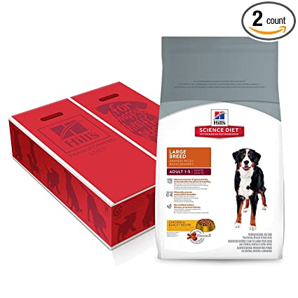 Hills Science Diet Adult Large Breed Dog Food, Chicken & Barley Recipe Dry Dog Food