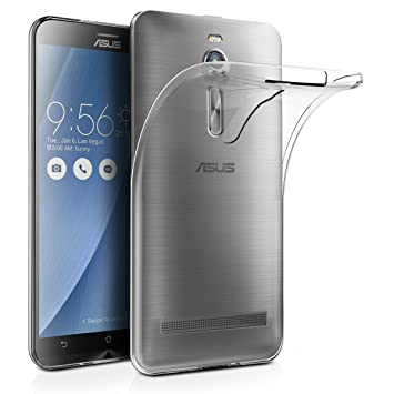 AICEK Funda ASUS ZenFone 2 ZE550ML/ZE551ML, ASUS ZenFone 2 Funda Transparente Gel Silicona ZenFone 2 Premium Carcasa para ASUS ZenFone 2 5.5