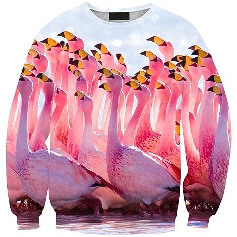 YICHUN Mujeres niñas Tops Camiseta Pullovers Thin Sudaderas Sudadera Blusa - Beige -: Amazon.es: Ropa y accesorios