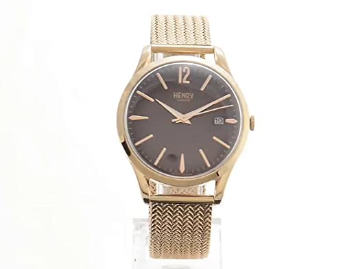 Amazon.com: Henry London Ladies Analogue Hampstead Watch with Rose Gold Bracelet HL39-M-0078: Watches