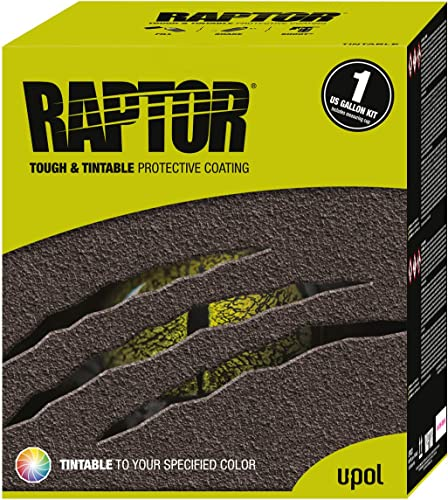 U-Pol Products RAPTOR Tintable Truck Bed Liner Kit - 4 Liter