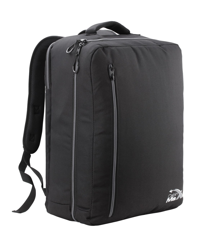 Sac à dos bagage à main Cabin Max Durham 50x40x20cm (Noir/ gris) 0702679485170