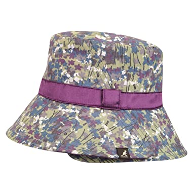 Amazon.com  Kangol Women Split Brim Bucket Hat Dainty Floral S  Clothing 2ec63e66a0f