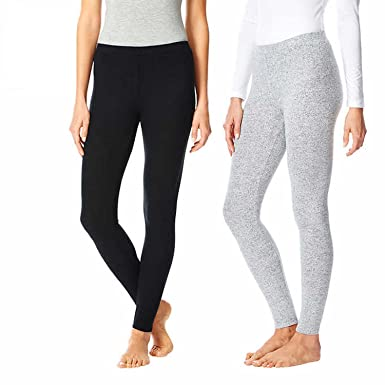 d577a35d6ea26 32 Degrees Heat Womens 2 Pack Lounge Leggings at Amazon Women's Clothing  store: