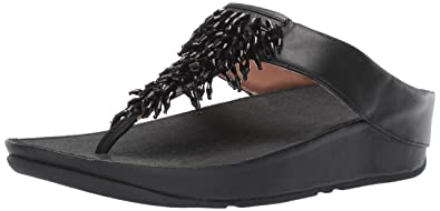 265bf604e7c7 Amazon.com  FitFlop Women s Rumba Toe-Thong Sandals Flip-Flop  Shoes