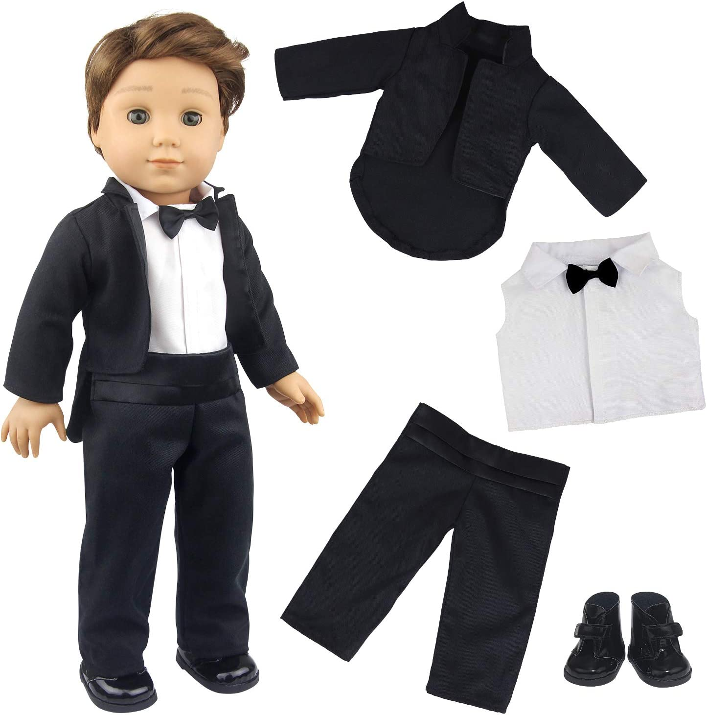 Toddler baby boys clothing outfits Shirt+pants wedding party tuxedo boys Clothes