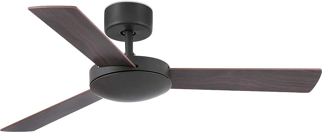 Ventilador de techo IBIZA marrón sin luz de FARO