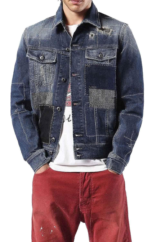 Amazon.com: Diesel Mens D-Jim Jacket: Clothing