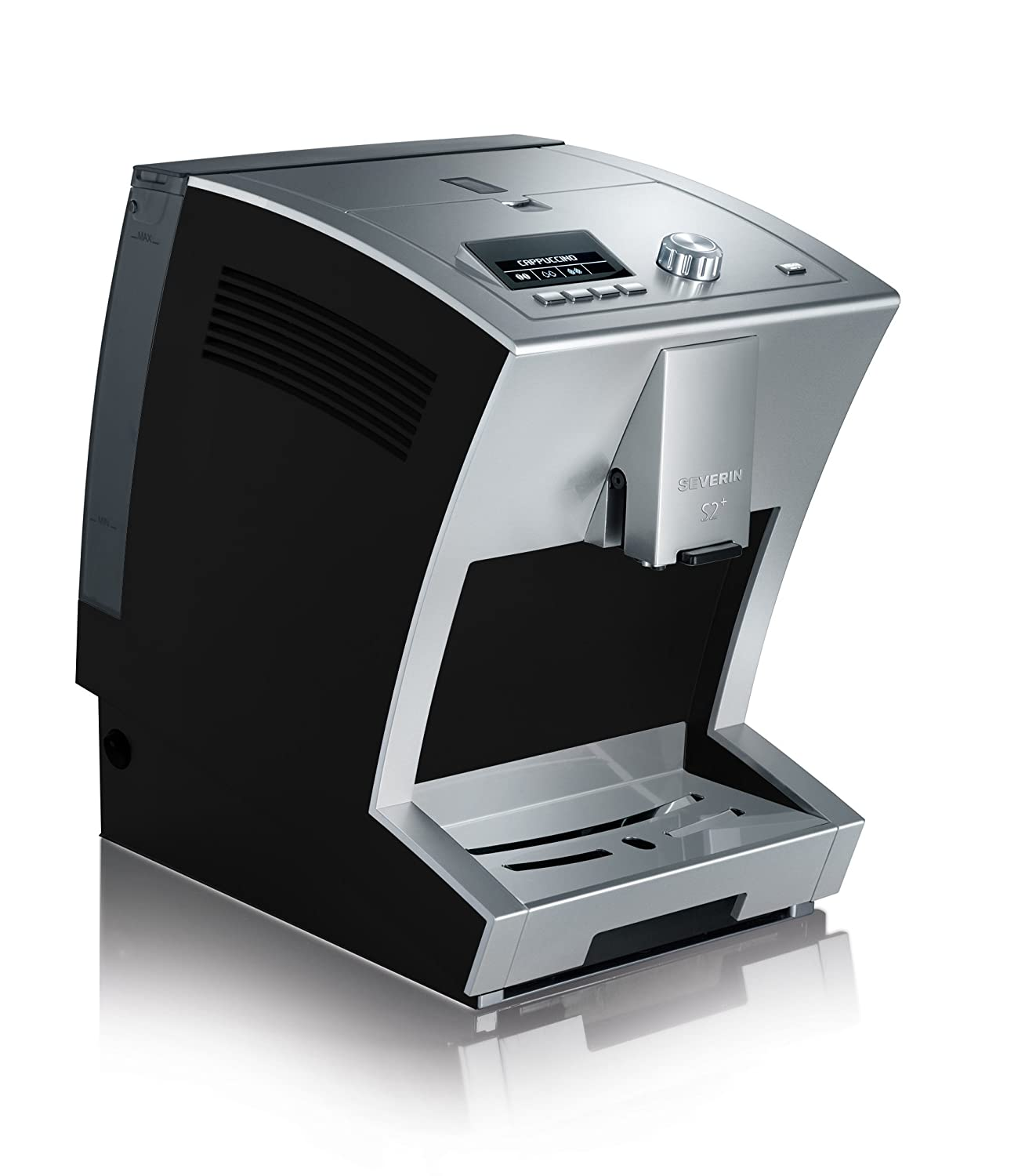 Severin KV 8027 S2+ One Touch - Cafetera automática, color negro y ...