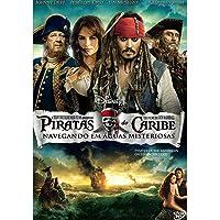 Piratas do Caribe navegando em águas misteriosas - DVD