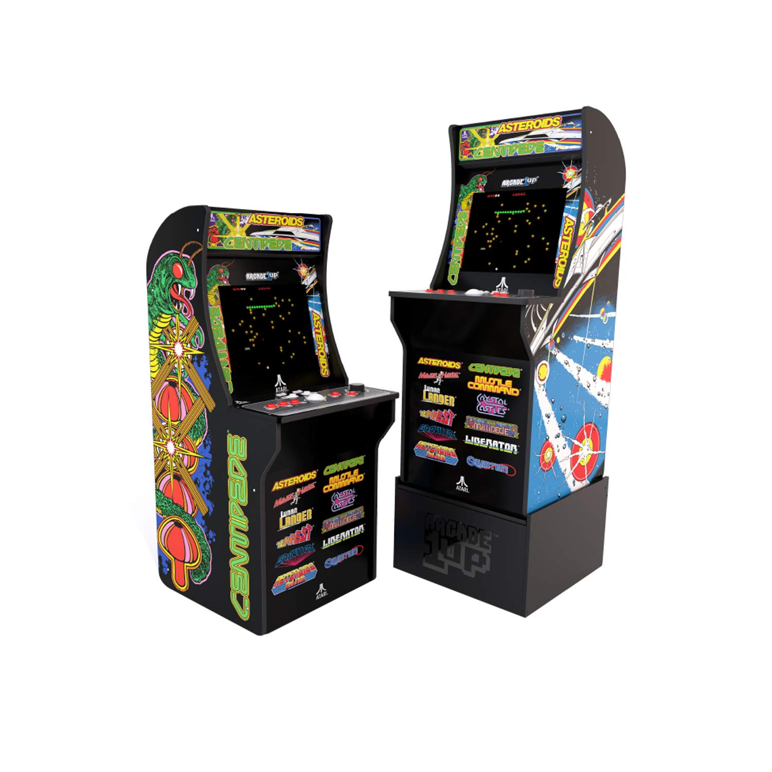 Arcade1Up Deluxe Edition 12-in-1 Arcade Cabinet with Riser, 5 feet by Arcade1Up (Image #1)