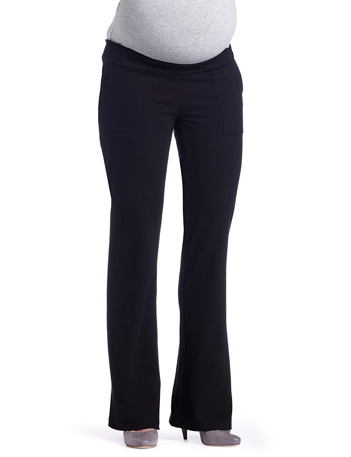 Everly Grey Women's Maternity Laura Pants Black Small Everly Grey - Kalia Partners P1002