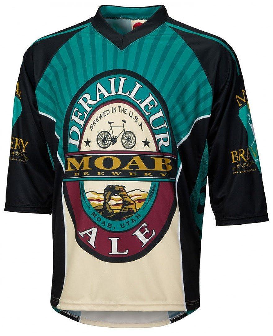 Amazon.com  World Jerseys Men s Moab Brewery Derailleur Ale 3 4 Sleeve  Mountain Bike Jersey  Clothing c79fb46bf