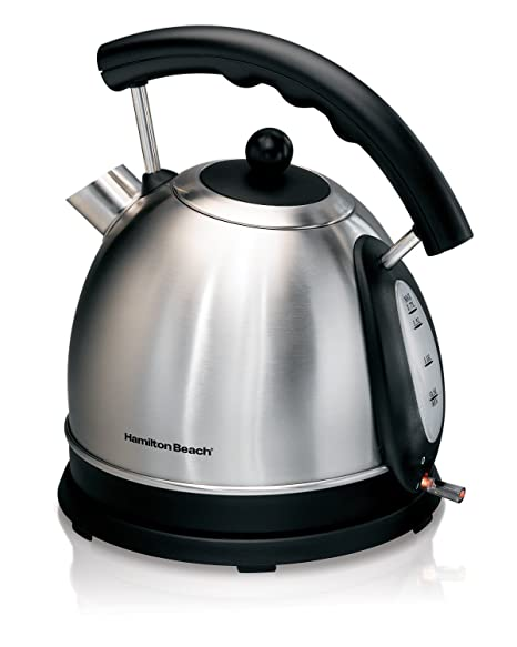 Amazon Com Hamilton Beach 1 7l Stainless Steel Electric Kettle