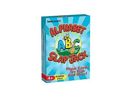 Amazon alphabet slap jack a fun preschool abc letter learning alphabet slap jack a fun preschool abc letter learning card game kids learn upper spiritdancerdesigns Image collections