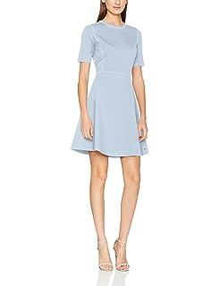 Tommy Hilfiger Women s Fiona C-nk Short Dress Ss  Amazon.co.uk  Clothing 9d3212941cd