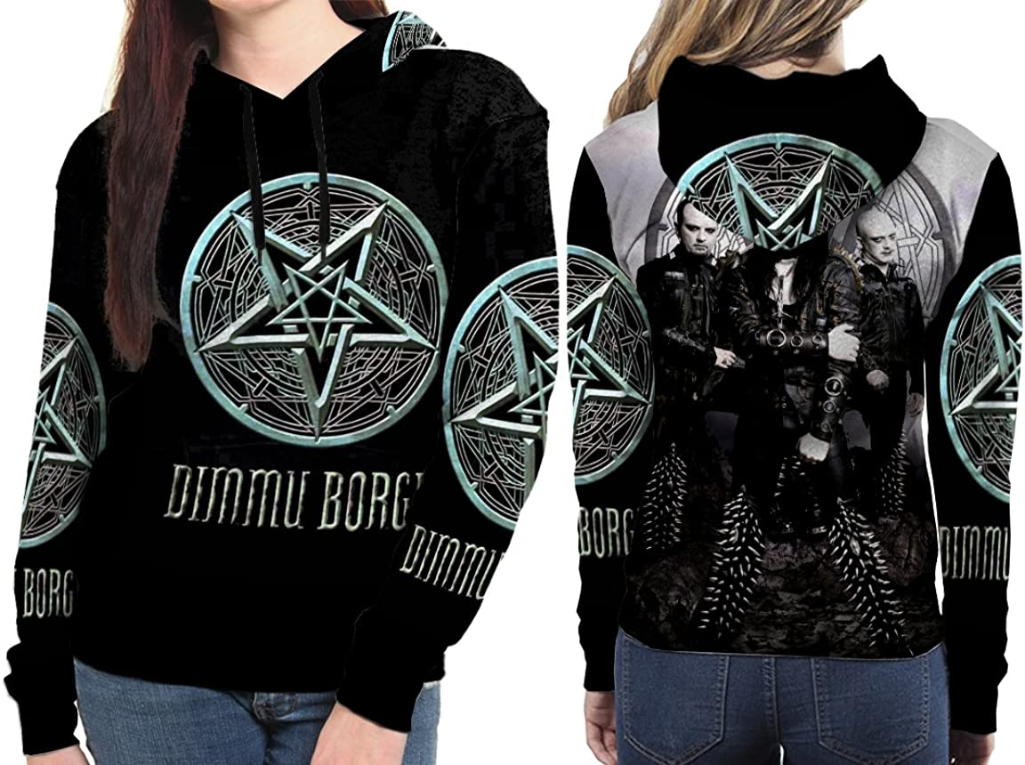 polyst Dimmu Borgir Black Metal Band Woman Apparel Size S XXXL