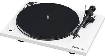 Amazon.com: Pro-Ject Essential III BT blanco (high gloss ...