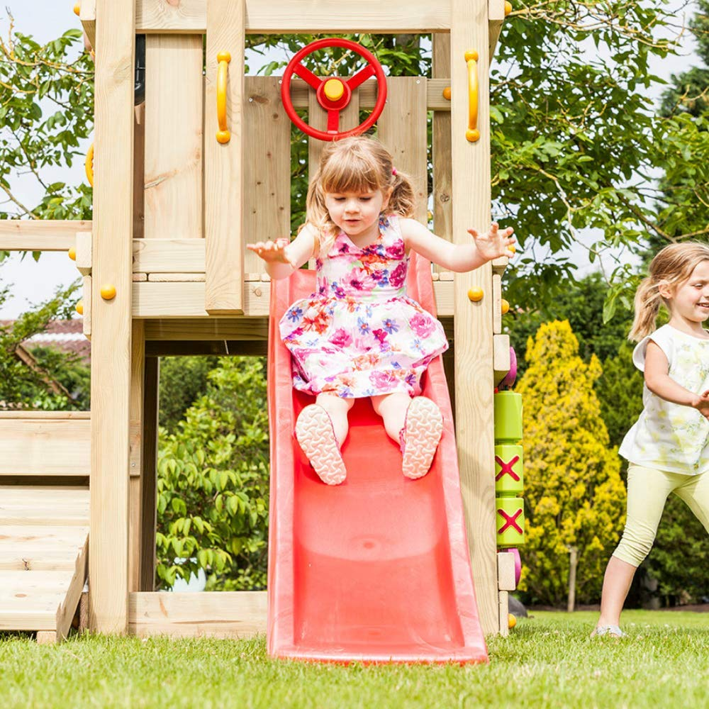 Blue Rabbit Play Outdoor Toddler Slide, 4 Feet, Red by Blue Rabbit Play (Image #6)