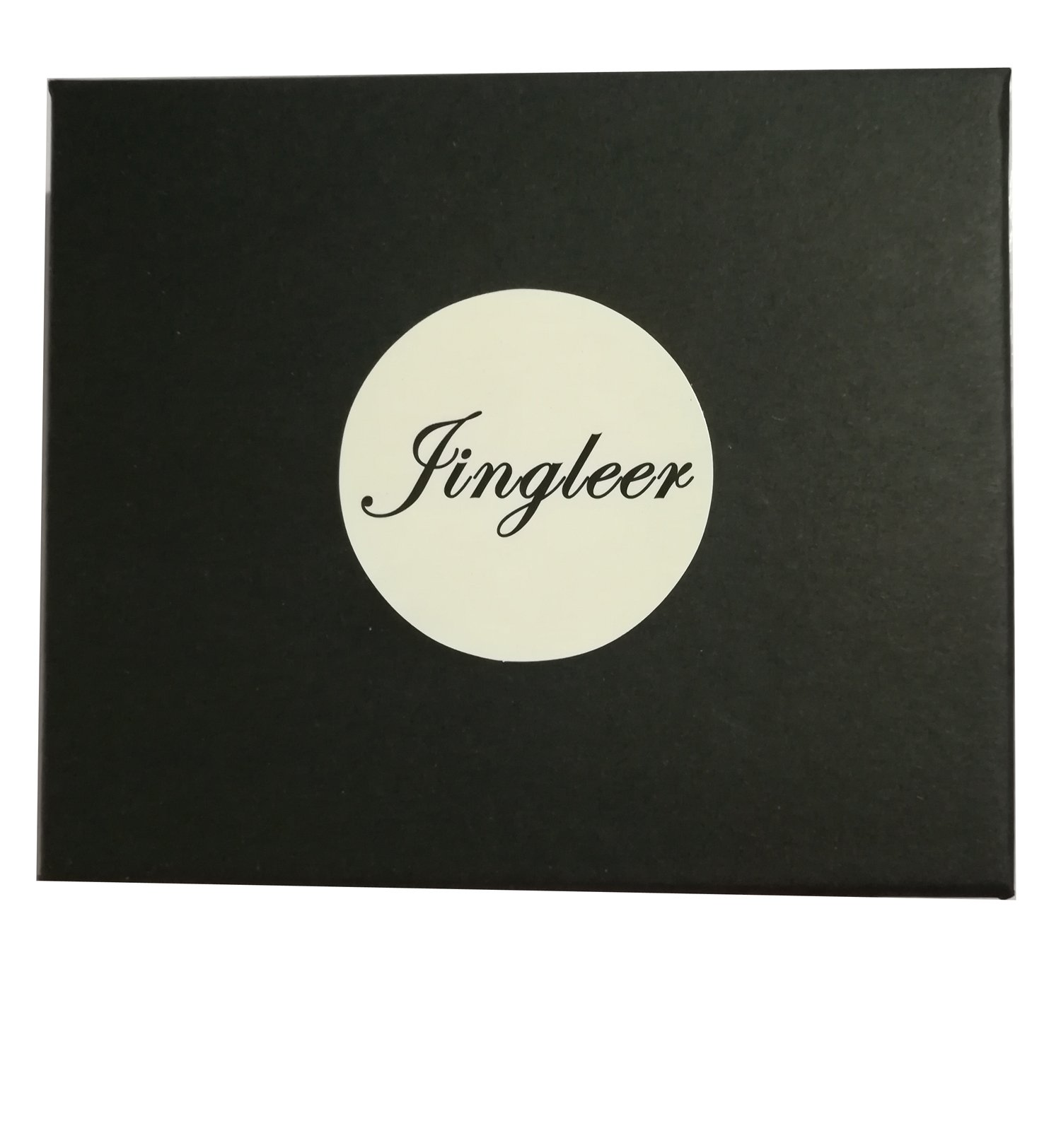 Mens Wallet, RFID Blocking Wallet, Jingleer Leather Men\'s Wallets Mens with Money Clip, Gift Box