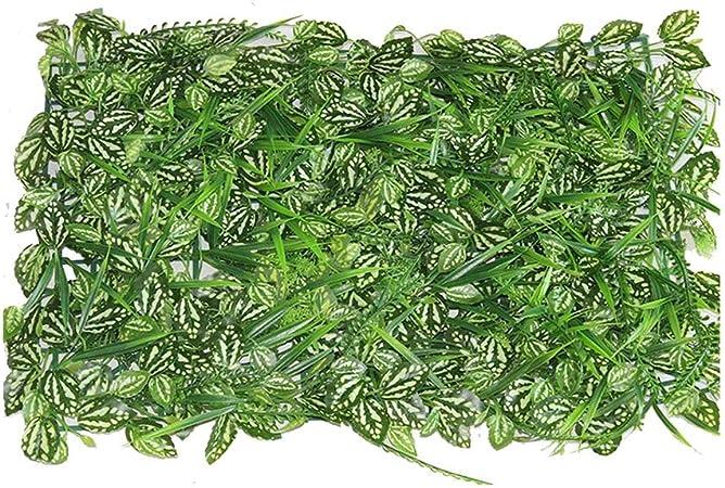 Xiaolin Coberturas Paneles Artificiales Verdor Paneles Cercados Verdor Paredes Jardín Pantalla de Privacidad Decoración para el hogar (Color : 03): Amazon.es: Hogar