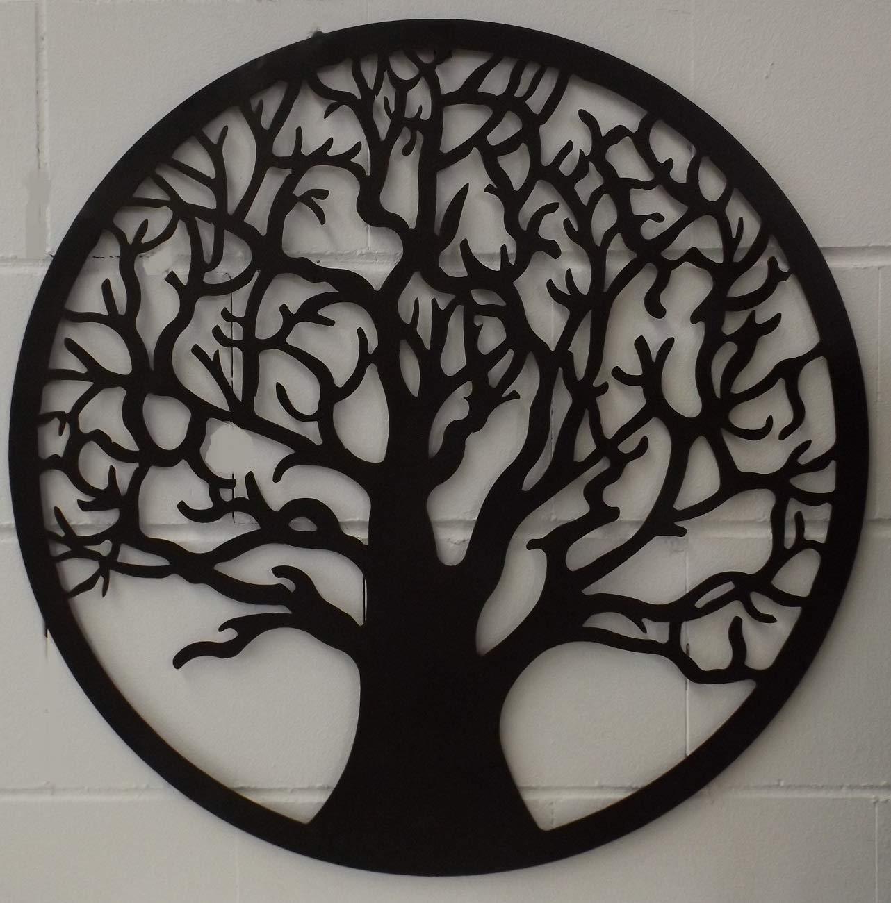 GILDE Wandrelief 68045 Lebensbaum Baum Metall braun gewischt Wand-Bild-Relief Bilder Wandbilder Wandbild
