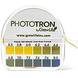Micro Essential Lab MF-1607 Hydrion Microfine Short Range pH Test Paper Dispenser Double Roll 6.0-8.0 pH